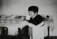 Pamětnice na výletě (s Irenou Gerovou) v Tatrách; 1970