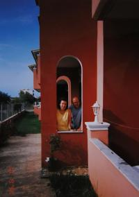 Pamětnice s Janem Frolíkem; Korfu; 1998