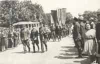 Pardubice, May 1945