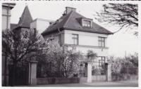 House of family Kopecký, Parduboce, street U sv. Anny No. 1715