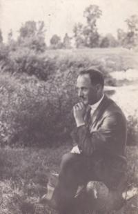 Václav Kopecký august 1927