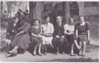 Eva Kopecká and Doleschels family