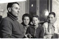 Martin Tadian with his second family