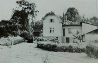 Mlýn na samotě u Velké nad Veličkou v němž Knápkovi za války ukrývali vysílačku a v němž měl své stanoviště František Bogataj