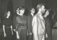 Doctorate graduation ceremony, Karolinum, Prague 1988