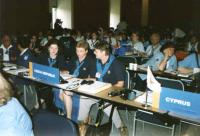 Hana right, World Scouting Conference, Dublin 1999