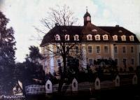 budova detského ústavu sociálnej starostlivosti v Hlučíne (60.te roky)