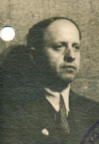 František Vyškovský (tatínek), 1945.