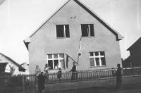 Dům v Užhorodě, poslední bydliště rodiny Natálie v Užhorodě