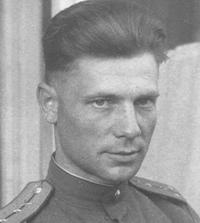 Nikolaj Mandričenko from Red Army. (He lived in 1945 by parents of Natalie)