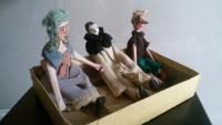 figures of Buratino, Christmas present from parents 1938