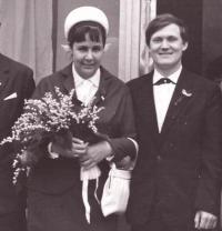Natálie svatba 1966