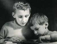 Josef Rössler s mladším bratrem Jiřím