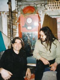 Karel Havelka a John Peel, New York, 90. léta
