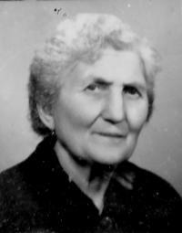 Marie Nemajerová, the mother