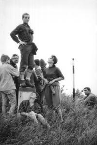 1967 - Jan Kučera v Poloninských Karpatech s turistickým oddílem přírodovědecké fakulty, který existuje dodnes