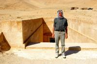 Palmira, Sýrie, pracovní cesta