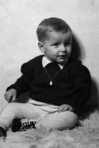 1949 - malý Jan Kučera