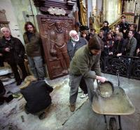 2010 - uncovering the grave of Tycho de Brahe