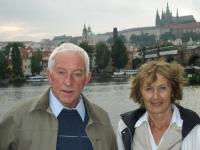 Jan Kucera with his wife