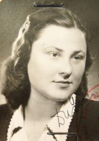Marta Charvátová po válce