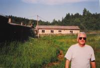 Manžel Milan Sehnal na táboře Vojna po roce 1990
