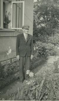 Grandfather Jindrich Bartos in 1960s