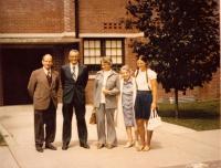 University of Puget Sound - Tacoma washington, mr. Daneš second from the left