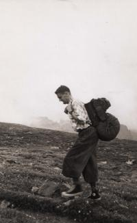 Zdeněk F. Daneš, Rocky Mountains, circa 1956