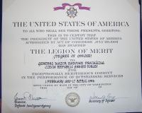 Legion of Merit - decree