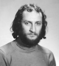 Ivan Bukovský, portrétní fotografie, asi 1980