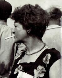 Mariana Bukovská asi v roce 1960