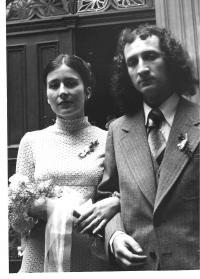 Svatba s Evou Pavlíčkovou, Praha 1978