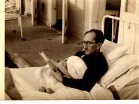 Ota Bukovský v sanatoriu, asi 1962