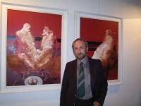 Ivan Bukovský vystavuje v Římě, 2005