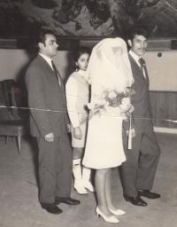 Agnesa Horváthová, svatba