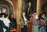 Romská svatba, Belgie 1992/93, Agnesa Horváthová uprostřed