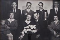Svatba Bartošových, 1960