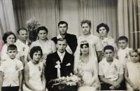 Svatební fotografie Bohdana a Haliny Ševčukových