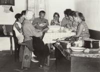 foto z etnografického výzkumu na Slovensku