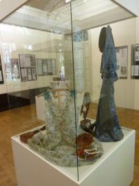 Z výstavy o historii Slováků v ČR v Muzeu v Krnově 2011