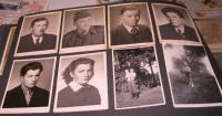 Fotografie členů rodiny-nahoře vlevo otec Wilhelm+sourozenci