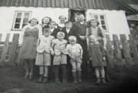 Rodina  Hadwigerova v Nýznerově