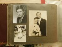 S alba sestry Anny, kterou odvezli na Sibiř, kde strávila 8 let života. Svatební fotografie a syn Wolfgang