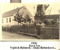 Babůrkovi in Nova Ves-1936