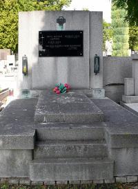 The family grave in Kladno