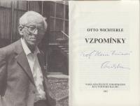 Kniha Otto Wichterleho
