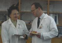 Blanka Brůnová na klinice Motole, fotografie z oslavy jejích narozenin