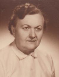 Anna Aloisie Brůnová roz Miškovská 1903 - 1990, matka