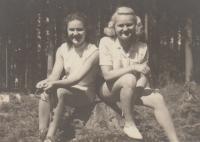 Sestry Blanka a Věra Brůnovy